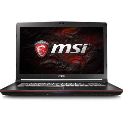 MSI GP72VR284 GP72VR Leopard Pro-284 Intel Core i7-7700HQ Quad-Core 2.80GHz Gaming Laptop - 16GB RAM  512GB SSD + 1TB HDD  17.3 Full HD WVA  DVD SuperMulti  Gig