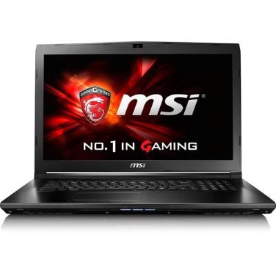 MSI GL72028 GL72 7RD-028 Intel Core i7-7700HQ Quad-Core 2.80GHz Gaming Laptop - 16GB RAM  128GB SSD + 1TB HDD  17.3 Full HD eDP  DVD Super Multi  Gigabit Ethern