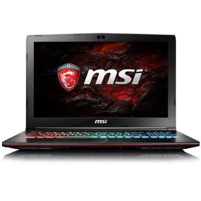 MSI GE62008 GE62 Apache Pro-008 Intel Core i7-7700HQ Quad-Core 2.80GHz Gaming Laptop - 16GB RAM  256GB SSD + 1TB HDD  15.6 Full HD eDP WVA  DVD SuperMulti  Giga