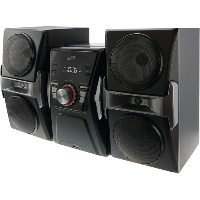 Digital Products International IHB624B Bluetooth Home Music System with FM Tuner & LED Lights