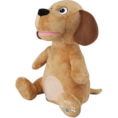 Digital Products International ISB485DOGBR Animated Plush Animal Bluetooth Speaker (Dog)