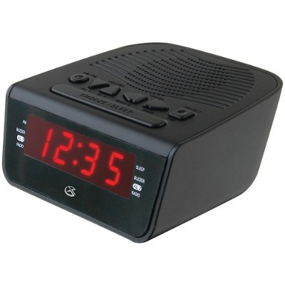 GPX C224 .6 LED AM/FM Alarm Clock
