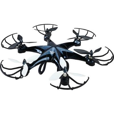 GPX DRW676B 6-Prop Drone with Wi-Fi Camera