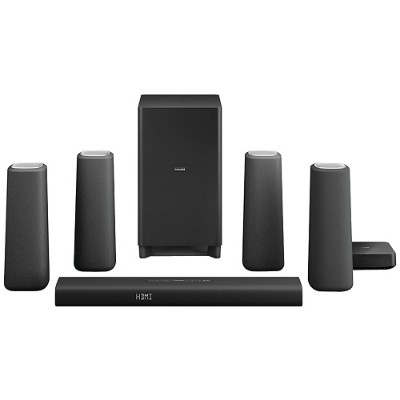 Philips CSS5530B/37 Zenit Bluetooth Cinema Speakers