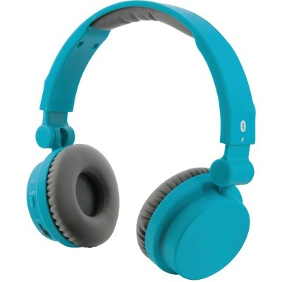 Digital Products International IAHB45TL Bluetooth Headphones with Microphone (Matte Teal)