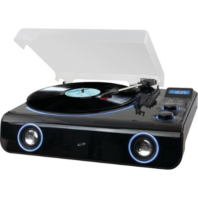 Digital Products International ITTB775B Classic-Style Bluetooth Turntable