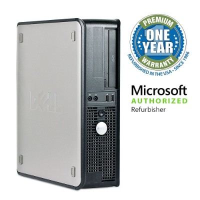 Dell MIBDEL780/3.0C2D8500 OptiPlex 780 Intel Core 2 Duo E8400 3.0GHz Small Form Factor PC - 8GB RAM  500GB HDD  DVD-ROM  Gigabit Ethernet - Refurbished