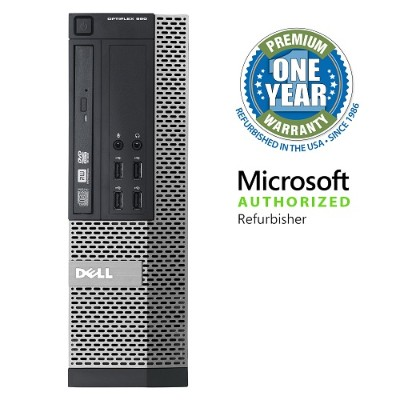 Dell MIBDEL990/3.1CI5-16 OptiPlex 990 Intel Core i5-2400 Quad-Core 3.10GHz Small Form Factor PC - 16GB RAM  2TB HDD  DVD-ROM  Gigabit Ethernet - Refurbished