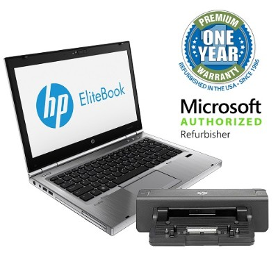 HP Inc. MOLHP8470P26CI5128D8 EliteBook 8470p Intel Core i5-3320M Dual-Core 2.60GHz Notebook PC - 8GB RAM  128GB SSD  14.0 LED HD  DVD-ROM  Gigabit Ethernet  802
