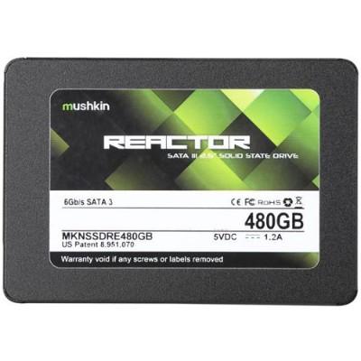 Mushkin MKNSSDRE480GB 480GB Mushkin Reactor SATA 3.0 Internal Solid State Drive