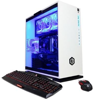 Cyberpower PC GXi10200PCM Gamer Xtreme GXi10200 Intel Core i7-7700 Quad-Core 3.60GHz Gaming Desktop - 16GB RAM  128GB SSD + 1TB HDD  Gigabit Ethernet
