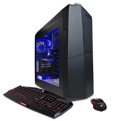 Cyberpower PC GXiVR2600PCM Gamer Xtreme GXiVR2600 Intel Core i7-7700 Quad-Core 3.60GHz Gaming Desktop - 16GB RAM  2TB HDD  DVD±RW  Gigabit Ethernet