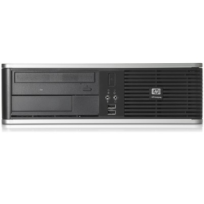 HP Inc. 16-HP-DC7800-SFF-72 Compaq dc7800 Intel Core 2 Duo E6750 2.33GHz Small Form Factor Desktop PC - 4GB RAM  320GB HDD  Gigabit Ethernet  Gray and Black - R