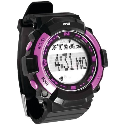 Pyle PSPTR19PN Multifunction Sports Watch (Pink)