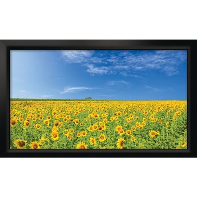 Cirrus Screens CS-100SP178G3 Stratus Series 16:9 Fixed-Frame Screen (100  Pearl White)