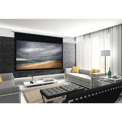 Cirrus Screens CS-110APW178G3 Arcus Series 16:9 Motorized Projector Screen (110  Pearl White)