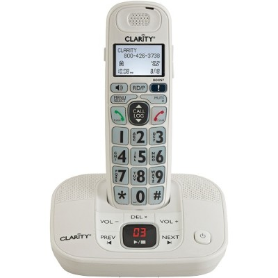 Clarity Visual 53714 DECT 6.0 Amplified Cordless Phone with Digital Answering System