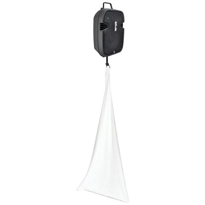 Pyle PSCRIM3W 3-Sided DJ Speaker/Light Stand Scrim (White)