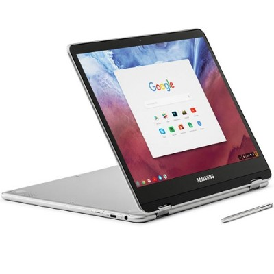 Samsung XE513C24-K01US Chromebook Plus XE513C24-K01US OP1 Hexa-core (Dual A72  Quad A53) 2.0GHz - 4GB RAM  32GB eMMC  12.3 LED Touch  802.11 ac/a/b/g/n  Bluetoo