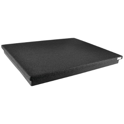 Pyle PSI12 22.5 x 18.1 Acoustic Sound-Isolation Dampening Recoil Stabilizer Speaker Riser Platform Base