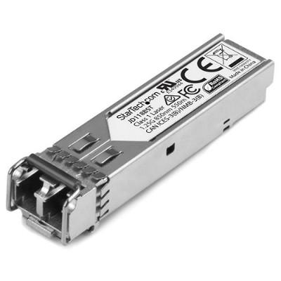 StarTech.com JD118BST Gigabit Fiber 1000Base-SX SFP Transceiver Module - HP JD118B Compatible - MM LC - 550m (1804ft)