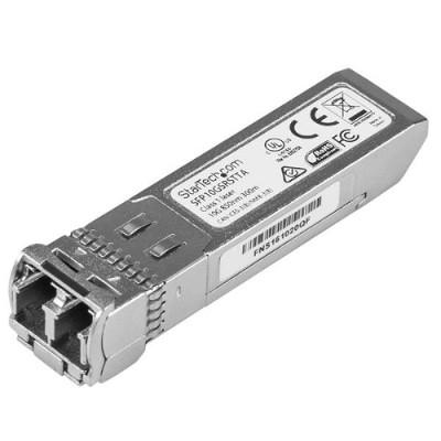 StarTech.com SFP10GSRSTTA 10 Gigabit Fiber SFP+ Transceiver - Cisco SFP-10G-SR Compatible - MM LC - 300m - TAA Compliant