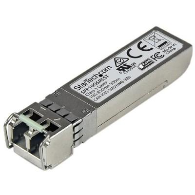 StarTech.com SFP10GSRSST 10 Gigabit Fiber SFP+ Transceiver Module - Cisco SFP-10G-SR-S - MM LC with DDM - 300m (984ft)