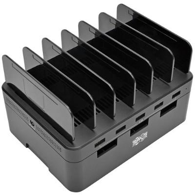 TrippLite U280-005-ST 5-Port USB Fast Charging Station Hub/ Device Organizer 12V4A 48W