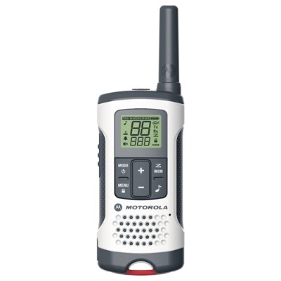 Motorola T260 Talkabout T260 Rechargeable 2-Way Radio  White 2-Pack