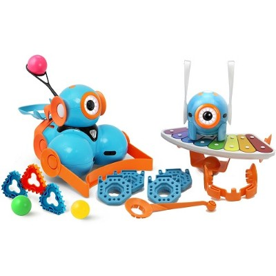 Wonder Workshop 1-WB04-01 Dash and Dot Robot Wonder Pack - Turquoise