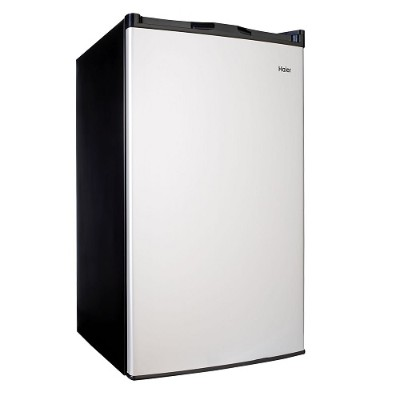 Haier HC46SF10SV 4.5-cu. ft. Mini Refrigerator/Freezer with Stainless Steel Look