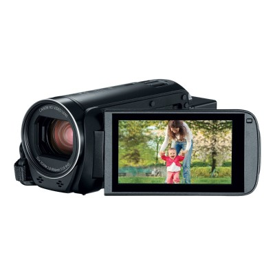 Canon 1958C002 VIXIA HF R82 - Camcorder - 1080p / 60 fps - 3.28 MP - 32x optical zoom - flash 32 GB - flash card - Wi-Fi  NFC