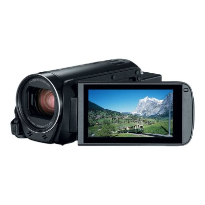 Canon 1959C001 VIXIA HF R80 - Camcorder - 1080p / 60 fps - 3.28 MP - 32x optical zoom - flash 16 GB - flash card - Wi-Fi  NFC
