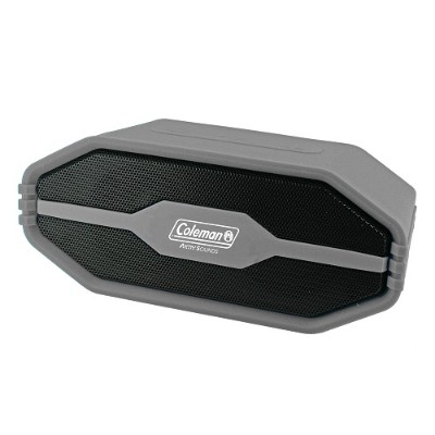 Coleman CBT15-GY CBT15 Bluetooth and Waterproof Speaker - Gray