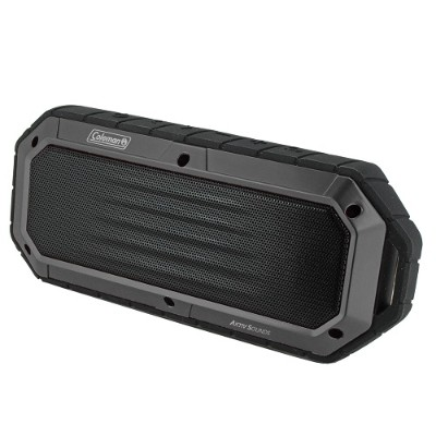 Coleman CBT16-GY CBT16 Bluetooth and Waterproof Slim-Line Speaker - Gray