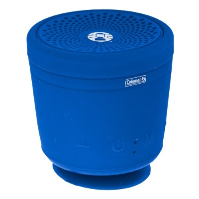 Coleman CBT10TWS-BL CBT10TWS Bluetooth and Waterproof True Wireless Stereo (TWS) Link Speaker - Blue