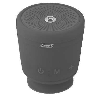 Coleman CBT10TWS-GY CBT10TWS Bluetooth and Waterproof True Wireless Stereo (TWS) Link Speaker - Gray