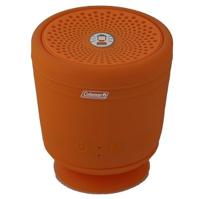 Coleman CBT10TWS-O CBT10TWS Bluetooth and Waterproof True Wireless Stereo (TWS) Link Speaker - Orange