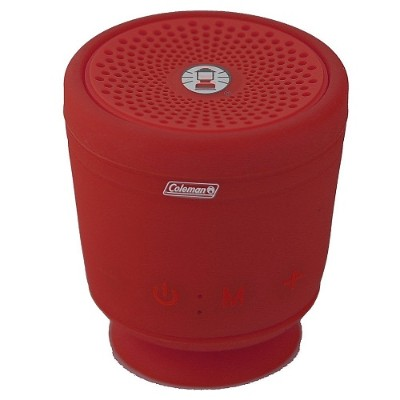 Coleman CBT10TWS-R CBT10TWS Bluetooth and Waterproof True Wireless Stereo (TWS) Link Speaker - Red