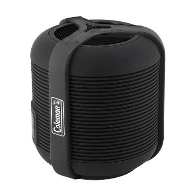 Coleman CBT13-BK CBT13 Bluetooth and Waterproof Mini Speaker - Black
