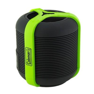 Coleman CBT13-G CBT13 Bluetooth and Waterproof Mini Speaker - Green