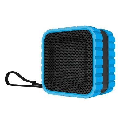 Coleman CBT14-BL CBT14 Bluetooth and Waterproof Cube Speaker - Blue