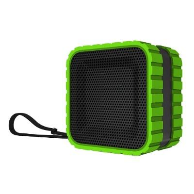 Coleman CBT14-G CBT14 Bluetooth and Waterproof Cube Speaker - Green