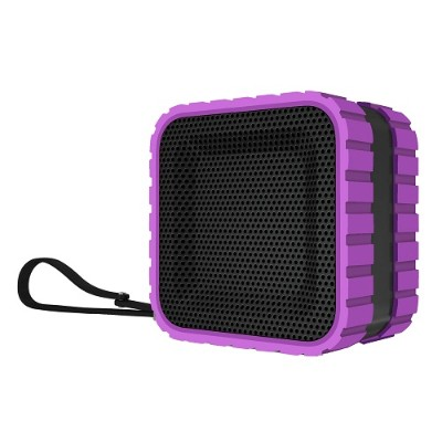 Coleman CBT14-P CBT14 Bluetooth and Waterproof Cube Speaker - Purple
