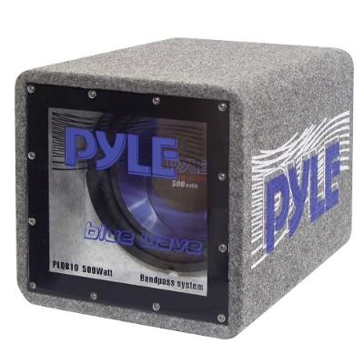 Pyle PLQB8 8'' 400 Watt Bandpass Enclosure System