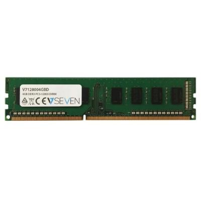 V7 V7128004GBD 4GB DDR3 PC3-12800 - 1600MHz DIMM Desktop Memory Module