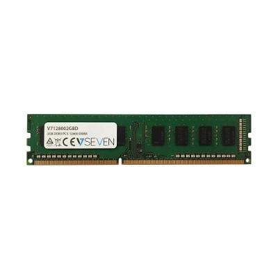 V7 V7128002GBD 2GB DDR3 PC3-12800 - 1600MHz DIMM Desktop Memory Module