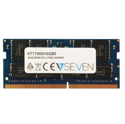 V7 V71700016GBS 16GB DDR4 PC4-17000 - 2133MHz SO DIMM Notebook Memory Module
