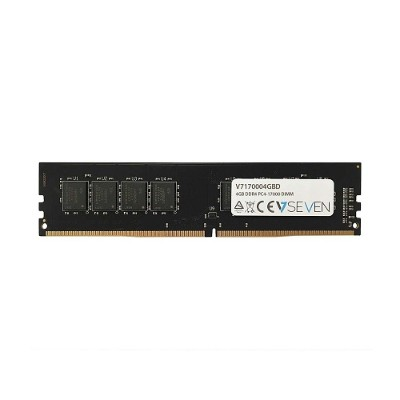 V7 V7170004GBD 4GB DDR4 PC4-17000 - 2133MHz DIMM Desktop Memory Module