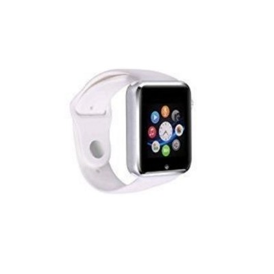 Worry Free Gadgets G10-SWATCH-WHT G10 Smart watch for Android /iOS Bluetooth - White